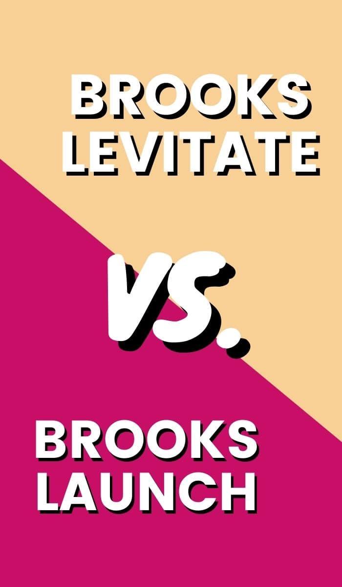Brooks Levitate Vs Launch Pin-min